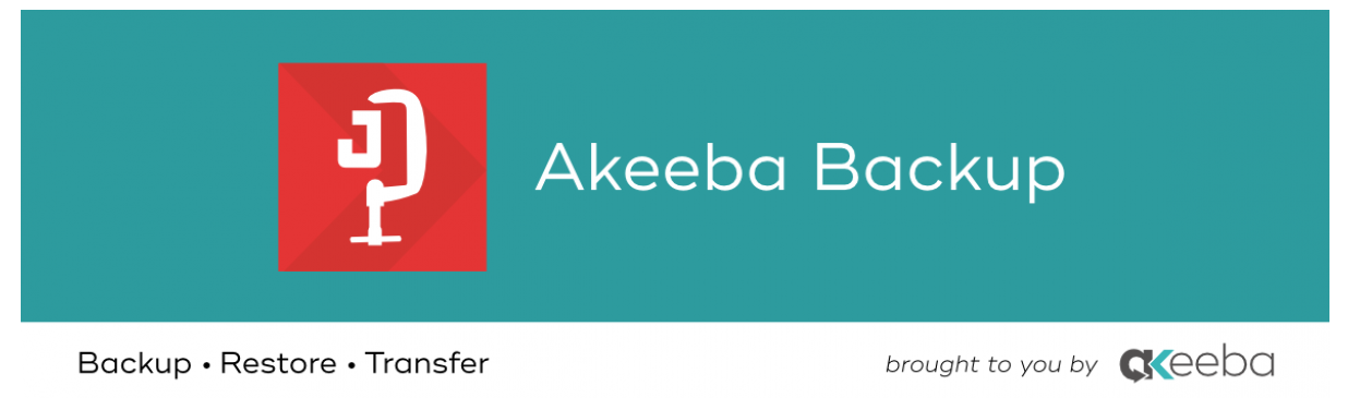 Akeeba Backup for your Website